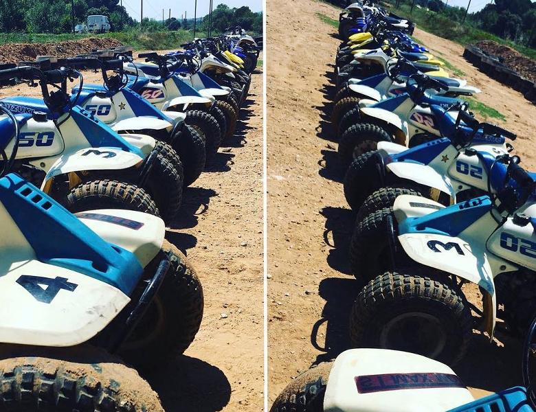 motos quad cabanon enchanté à pourrrières